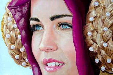 La dama de las perlas  by aixado