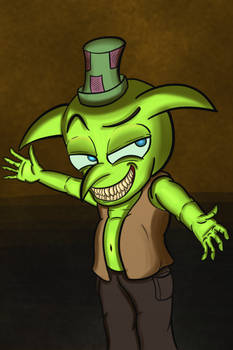 Smarmy Goblin (And a Super Creep)