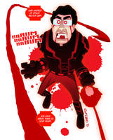 Red Lantern Gab by gabmadrid