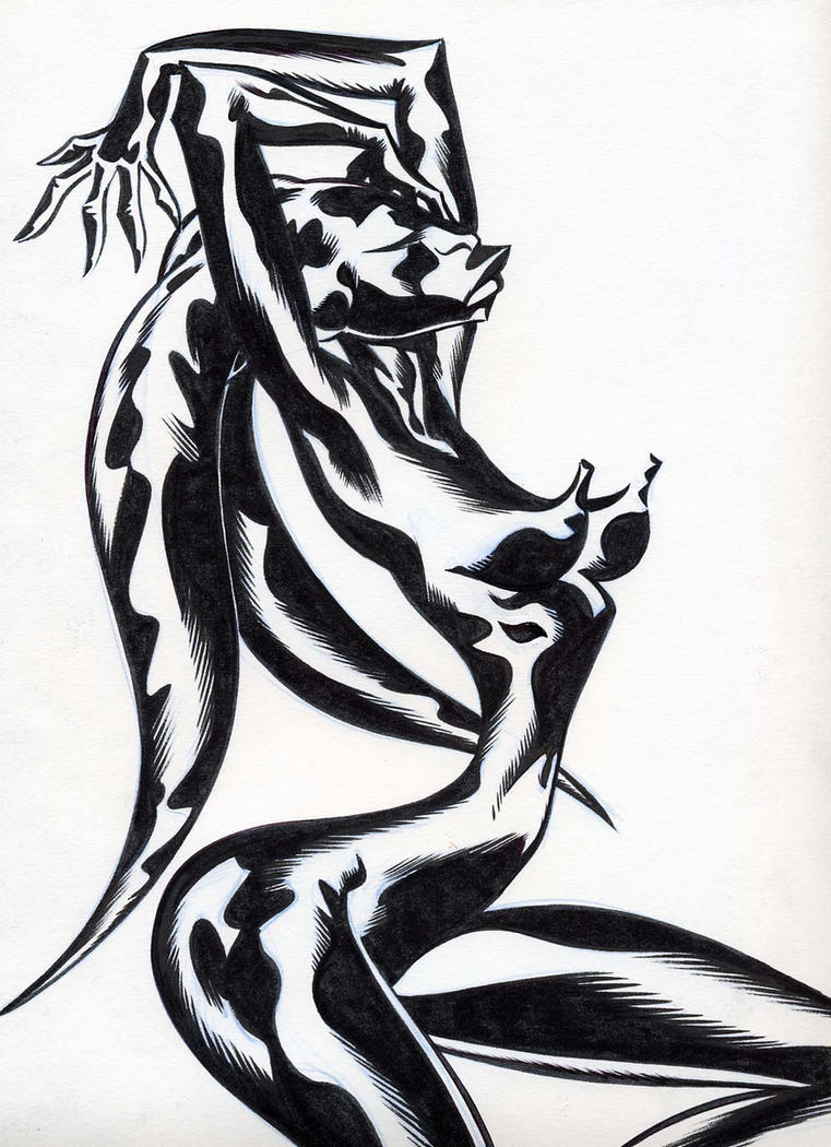 Twi' Lek Goddess by sobad-jee