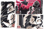 clone Wars sketch cards 5