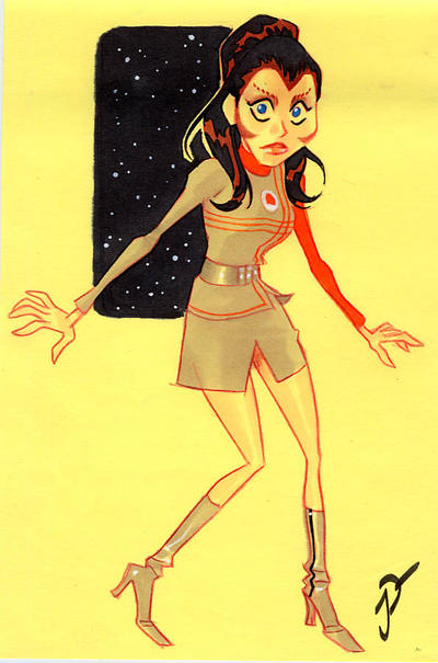 Spacebabe4 Cosmos 1999 by sobad-jee