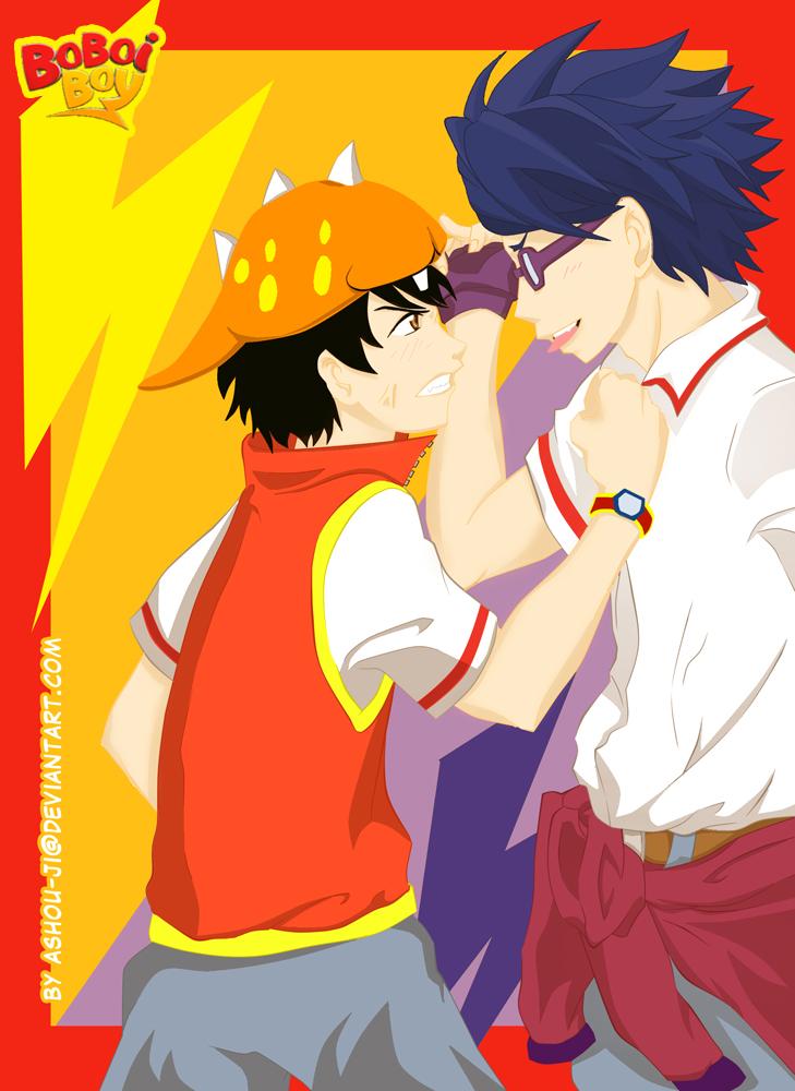 Boboiboy and Fang Quarrel by ashou-ji