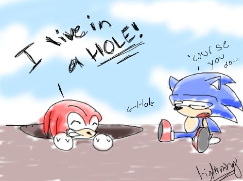 Knuckles' Home