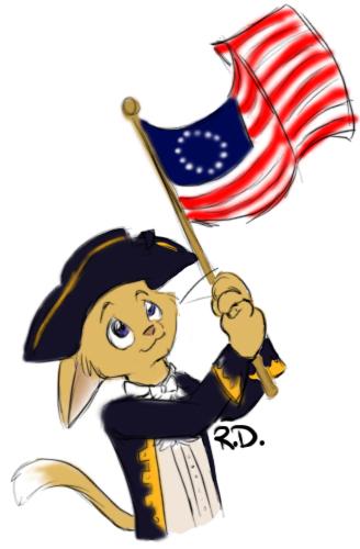 Kitteh of American Revolution