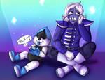 Lesser Dad Suffereth by PurpleZombieTigress