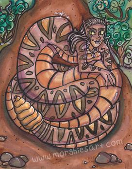 Naga Painting