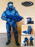 Halo - Master Chief Papercraft by stange1337