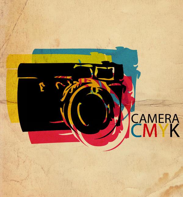 CMYK Camera by cheekym0nkey Digital Art Inspiration: CMYK Artworks & Graphic Designs
