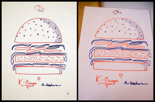 Risograph Burger
