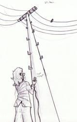 Pencilpaperktober 21 (ENG/FR) by Kaelmn
