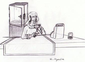 Pencilpaperktober 22 (ENG/FR) by Kaelmn