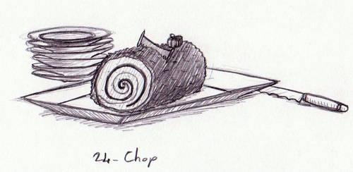 Pencilpaperktober 24 (ENG/FR) by Kaelmn