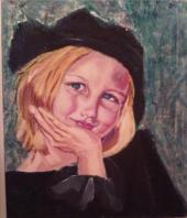 portrait of a girl by mags55