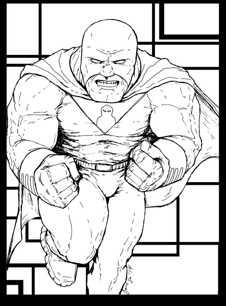 Coloring Pages for bad kids: Space Ghost Returns by KrisOwrey