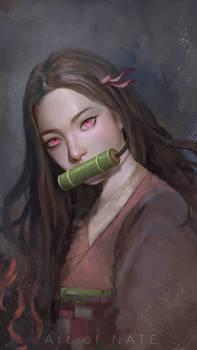 Nezuko Fanart
