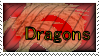 """Dragons"" stamp by king-boom-boo"