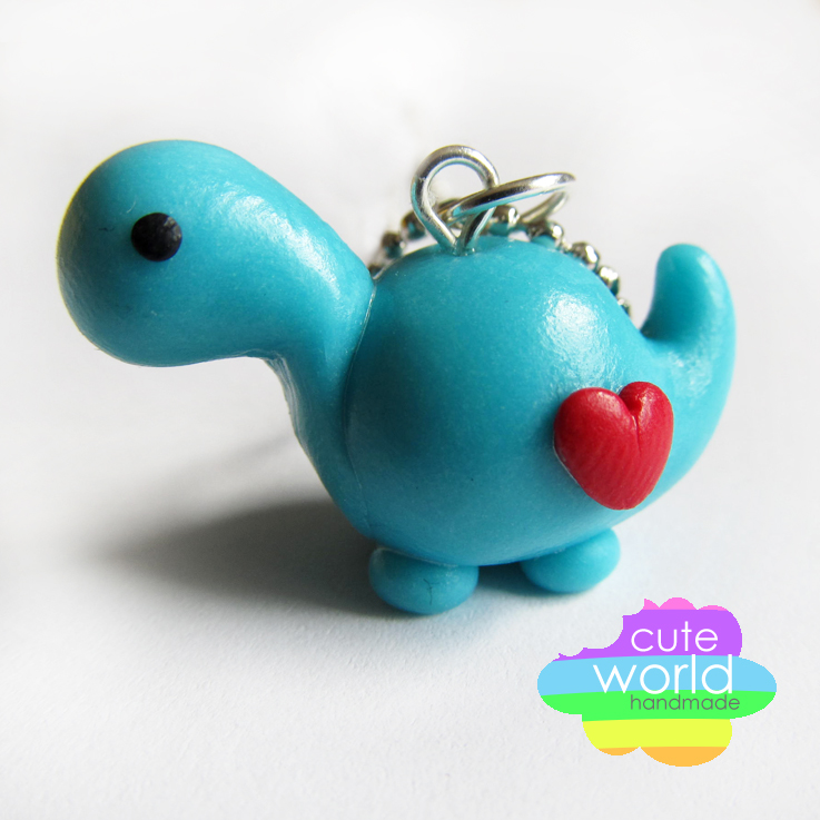 Blue Dino by CuteWorldCharms