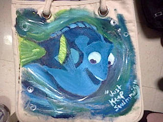 Dory from Finding Nemo by konandonenogood