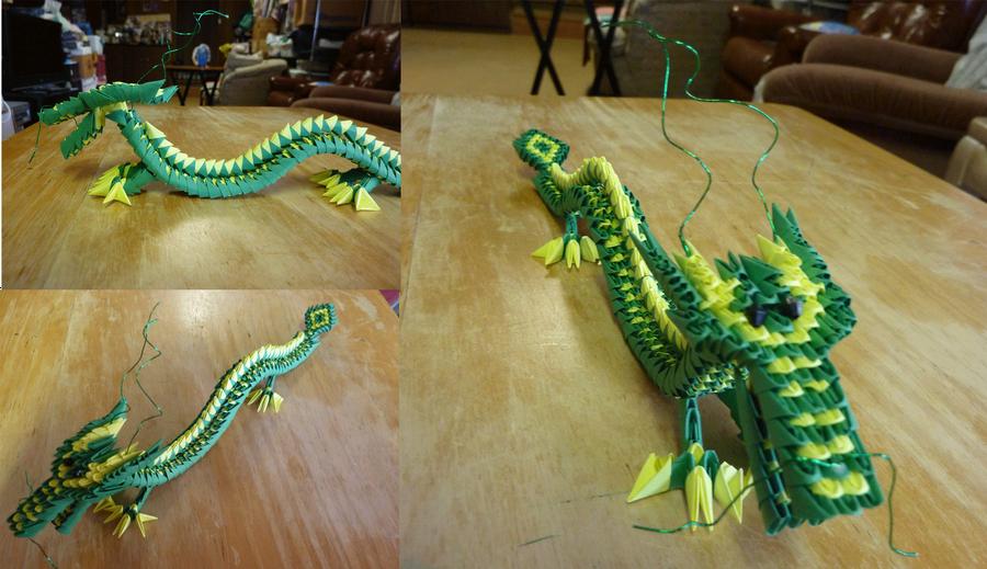 Origami Dragon by Houkiboshi3133