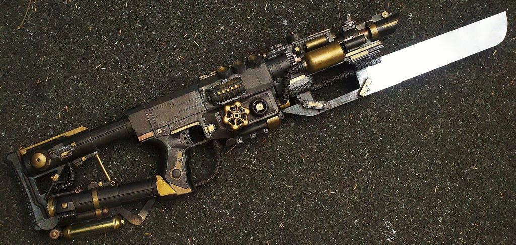 Iron Maiden Diplasmodial Autogauge Sectonal Cannon by LandgraveCustoms