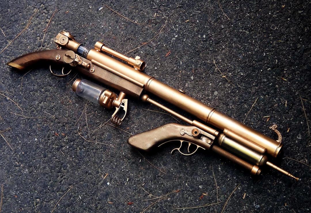 Ion Bridge Lightning Rifle by LandgraveCustoms