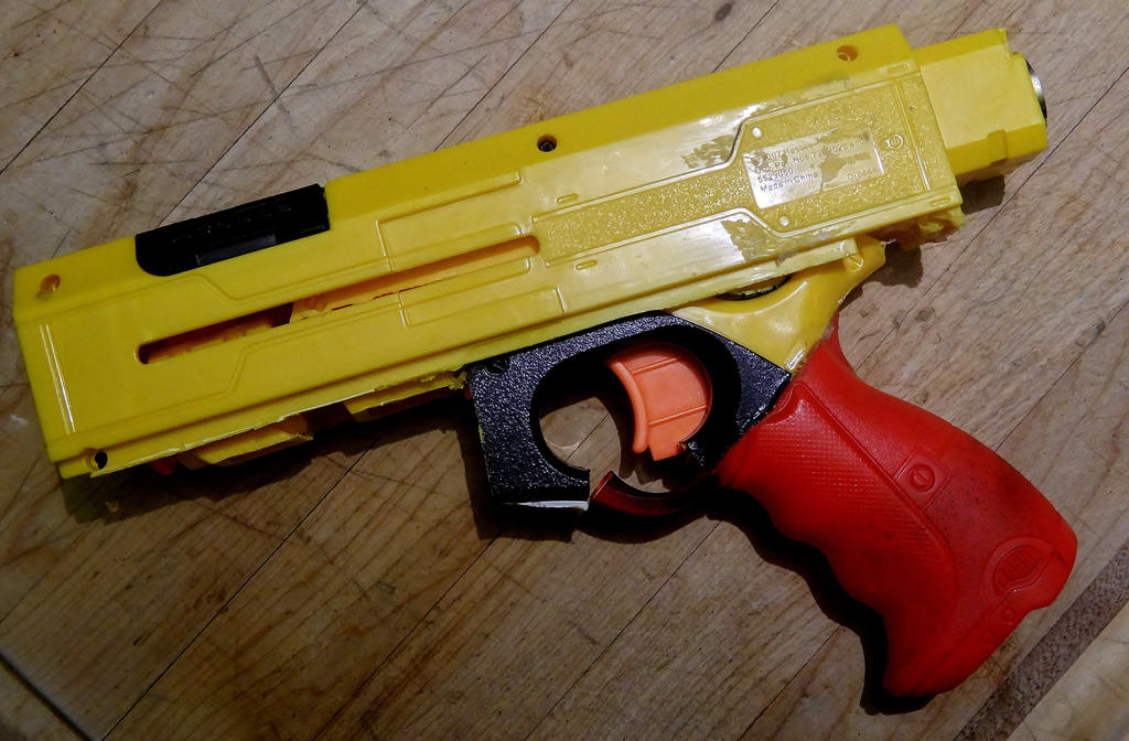 Mercury-01 WIP Nitefinder Hand Gun by LandgraveCustoms