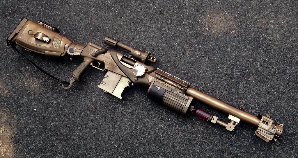 The Inferium Rifle by LandgraveCustoms