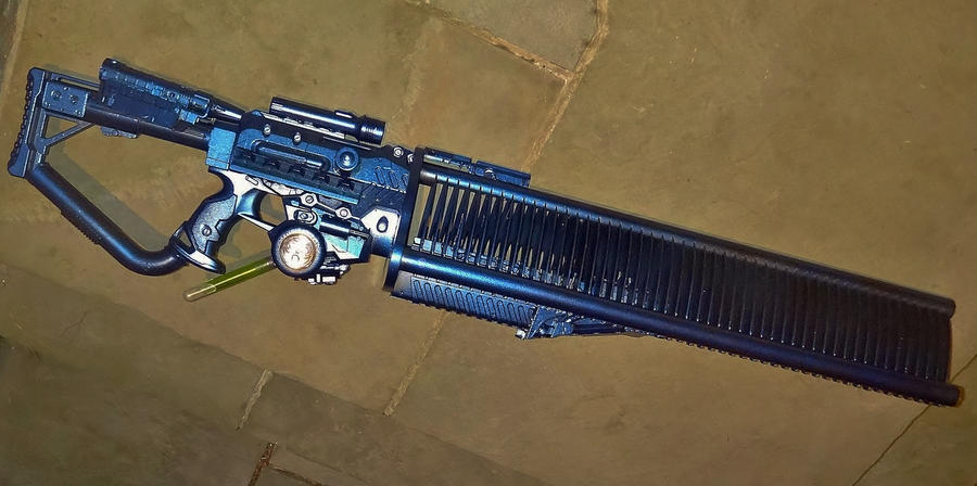 Scynavoid Impulse Gauss Gun WIP by LandgraveCustoms