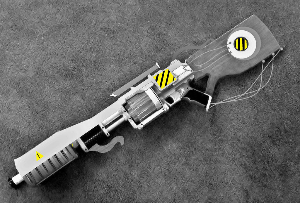 -Nobyl- Revolver Rifle Mockup by LandgraveCustoms