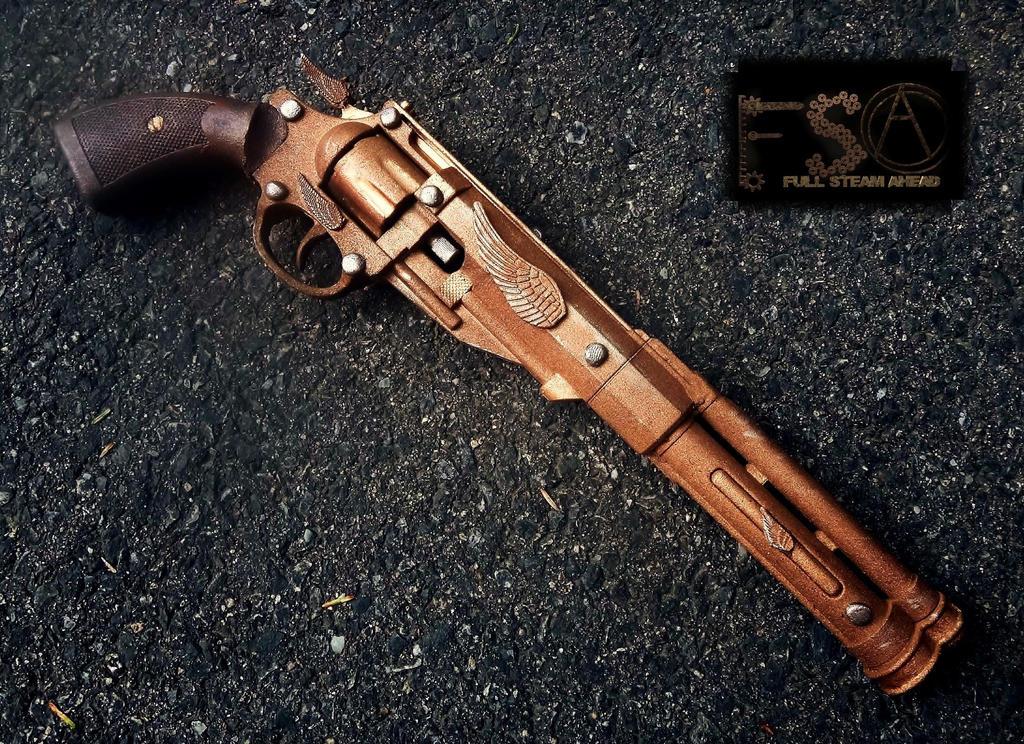 Gunslinger Long Pistol for Full Steam Ahead by KingMakerCustoms