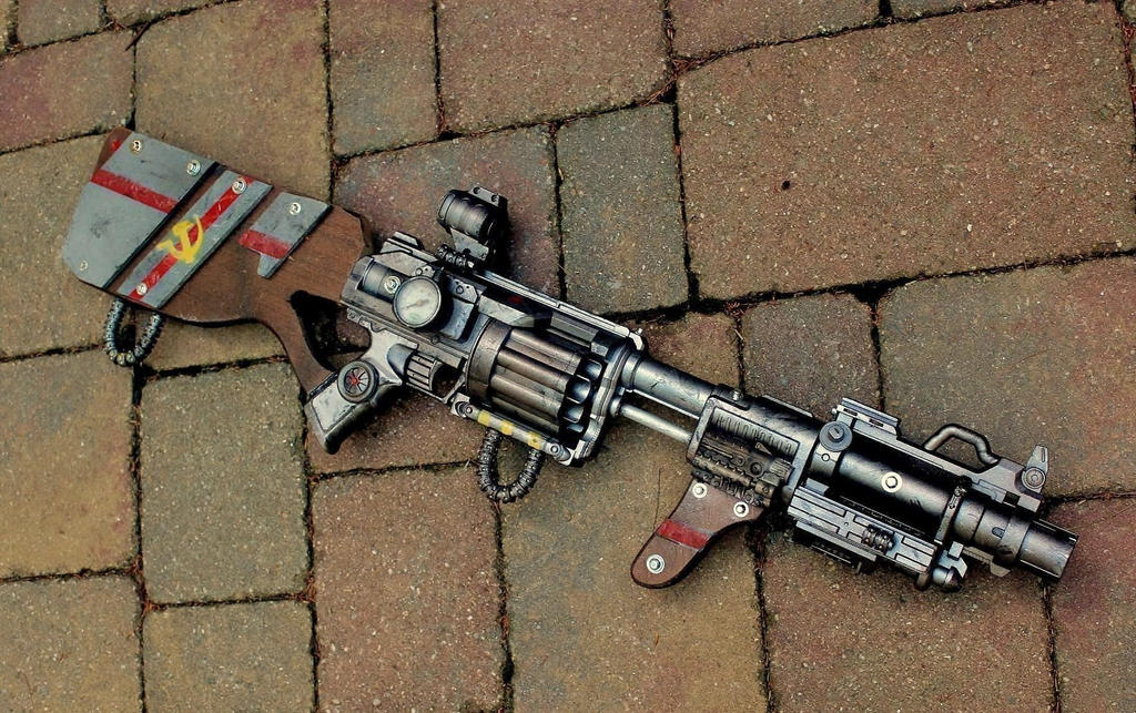 The Nobyl Rifle (Yep, that's good enough.) by LandgraveCustoms