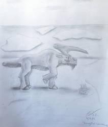 Rangifer unicornius, or, The Caribounicorn