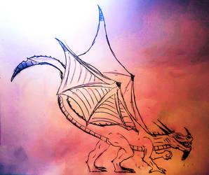 The Volcanic Dragon Thusshra