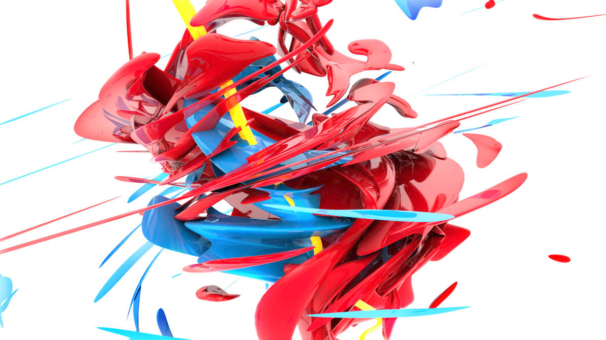 3D Abstract Swirl by riabukha
