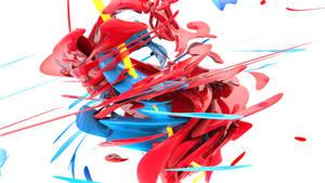 3D Abstract Swirl