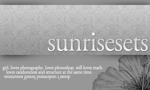 SunriseSets's Profile Picture