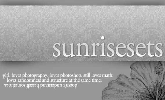SunriseSets's Profile Picture