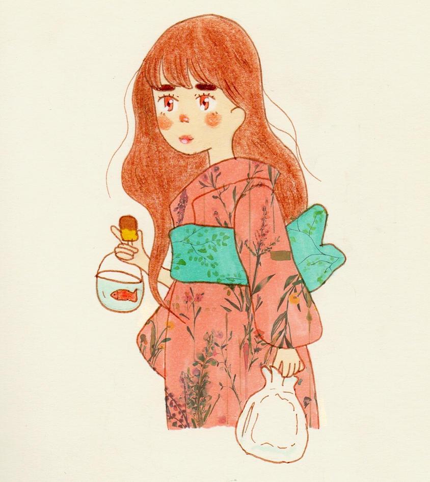 KIMONO GIRL by kikidessu