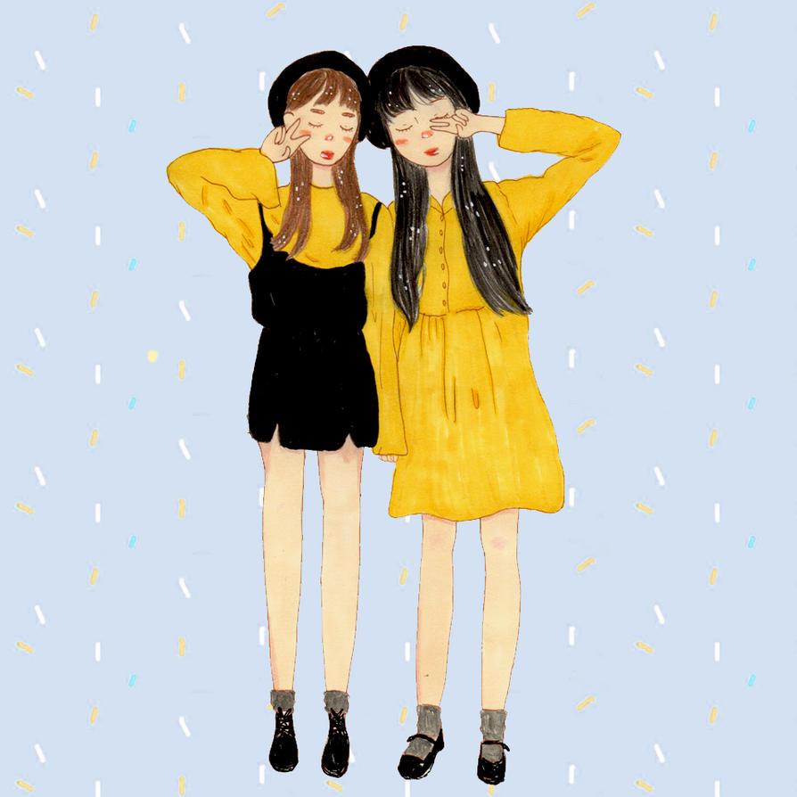 Yellow Two by kikidessu