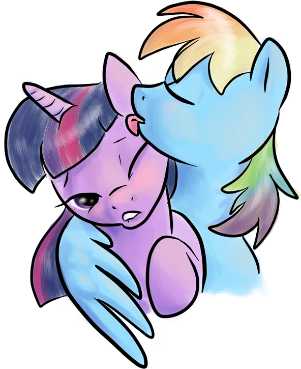 Stealing a kiss by northernlightsmlp
