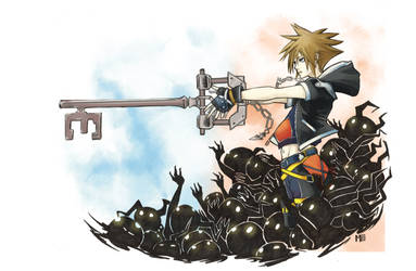 Obsession of the keyblade