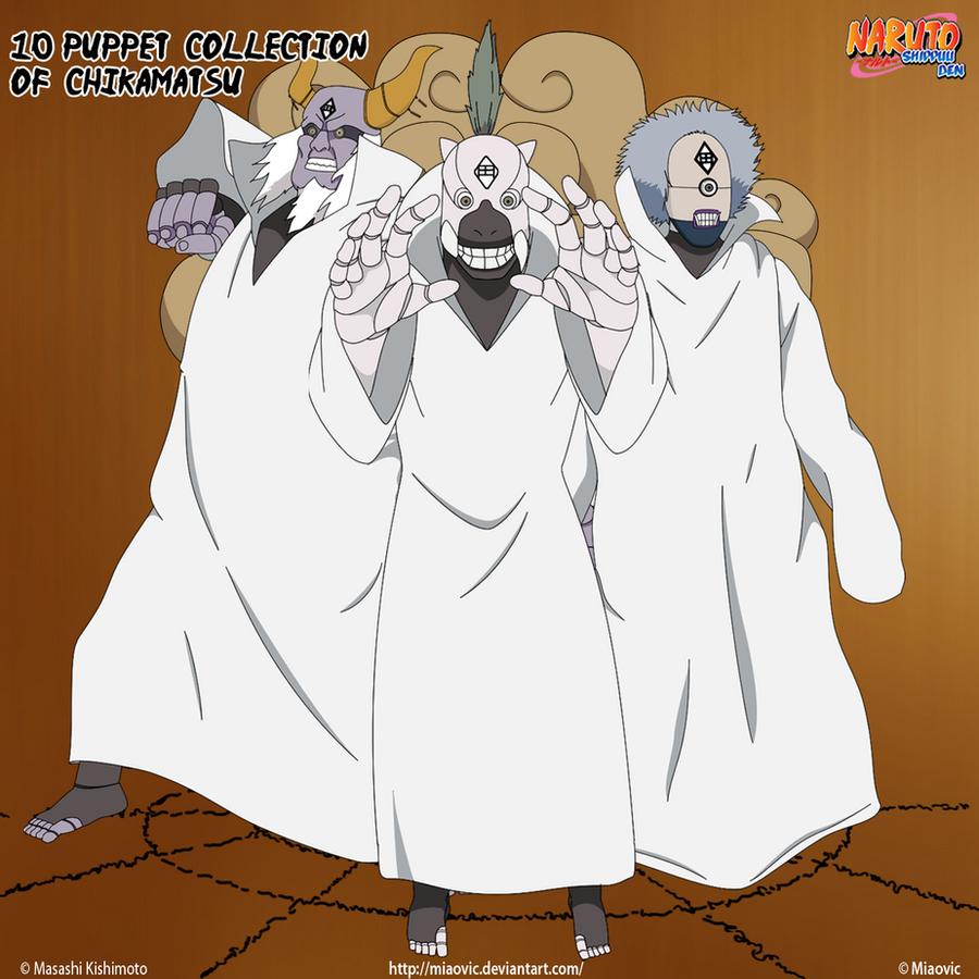 Ten Puppets Chikamatsu P4 By Miaovic On Deviantart