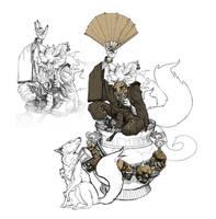 Kitsune trickster