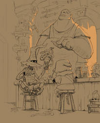 In the tavern by Max-Kneht