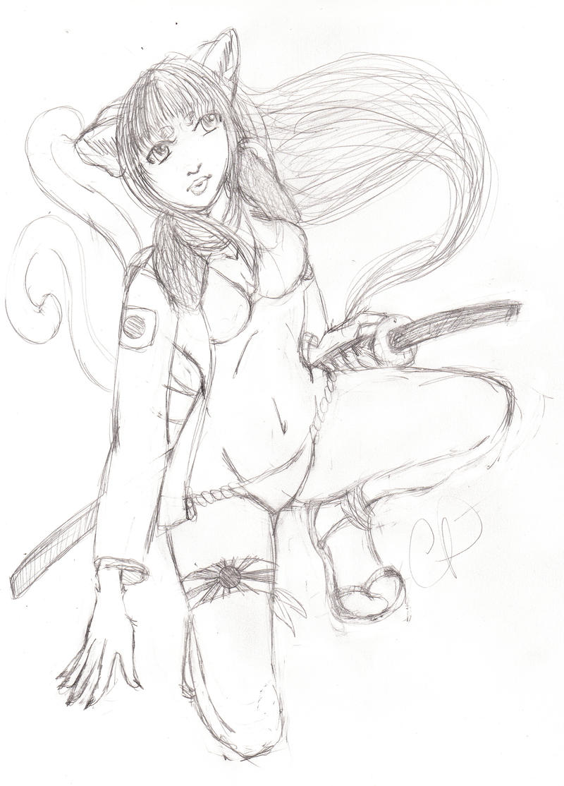 Kamikaze Jade-chan by thatfoxfacedbastard
