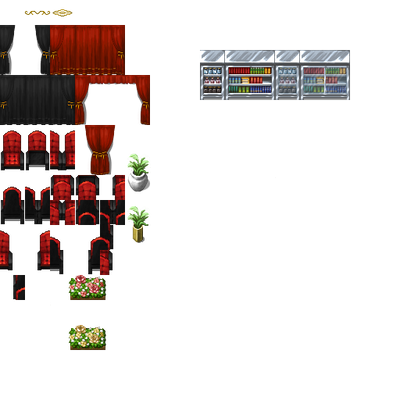 Tileset theater/lab - RPG Maker VX Ace *WIP* by Guiguimu on