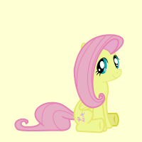 Meet the Ponies Icon : Fluttershy by Fishinabarrrel