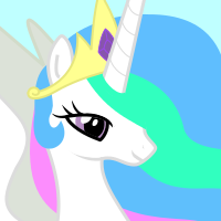 Meet the Ponies Icon : Celestia by Kdogfour