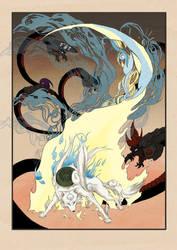 Okami scroll by onewayprophet